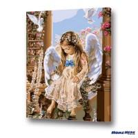 數字油畫 天使之約