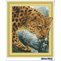 鑽石畫 3D立體藝術 獵豹