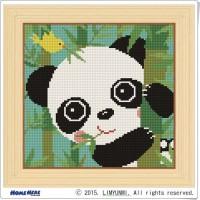 鑽石畫 熊貓咪咪