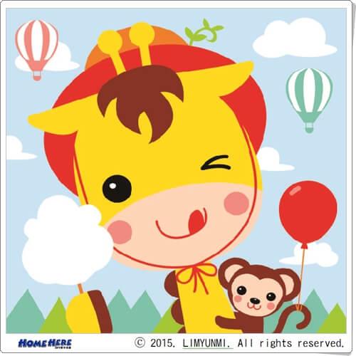 數字油畫 韓國插畫家款 歡樂猴