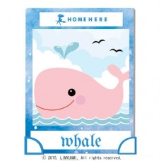數字油畫 韓國插畫家款 水柱鯨