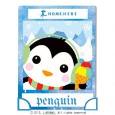 數字油畫 韓國插畫家款 冰雪小企鵝