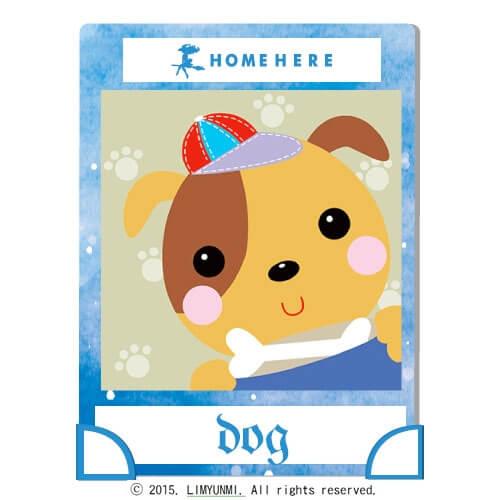 數字油畫 韓國插畫家款 活力小狗