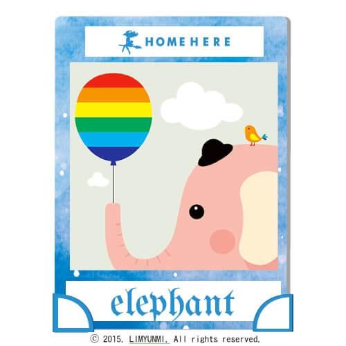 數字油畫 韓國插畫家款 氣球小象