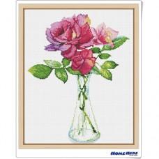 鑽石畫 小清新 玫瑰