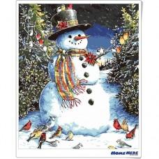 數字油畫  聖誕雪人 快樂旋律
