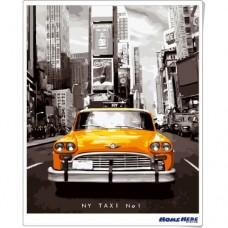 數字油畫 紐約TAXI