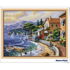 鑽石畫 海灘家園