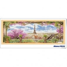 鑽石畫 巴黎櫻花季