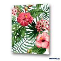 數字油畫 熱帶花開