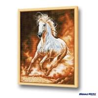 鑽石畫 馳騁馬