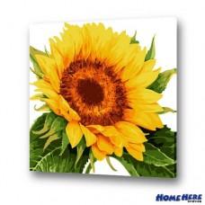 數字油畫  向日葵