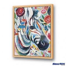 鑽石畫 彩繪斑馬