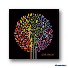 數字油畫 生命樹