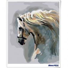 數字油畫 琉璃馬