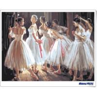 數字油畫 芭蕾舞 青春