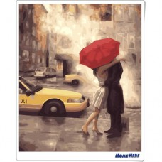 數字油畫 紐約之戀
