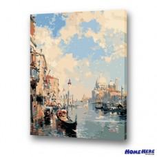 數字油畫 威尼斯 印象