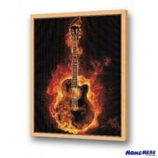 鑽石畫 熱力吉他