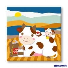 數字油畫 鴻運豐收 牛轉乾坤
