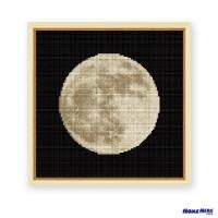 鑽石畫 月