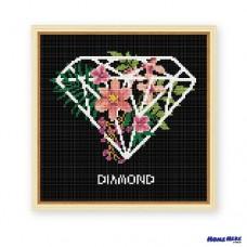 鑽石畫 鑽石花