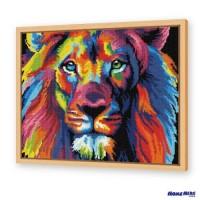 鑽石畫 幻彩獅子