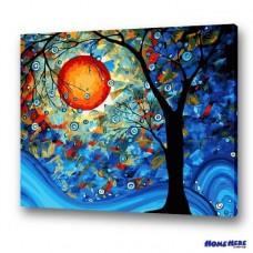 數字油畫 夢之樹