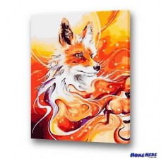 數字油畫  稻荷靈狐