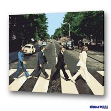 數字油畫 The Beatles