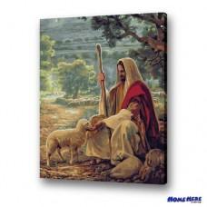 數字油畫 牧羊人