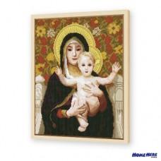 鑽石畫 百合聖母像