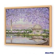 鑽石畫 春遊華盛頓