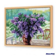 鑽石畫 紫戀花