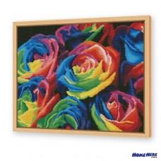 鑽石畫 彩虹玫瑰