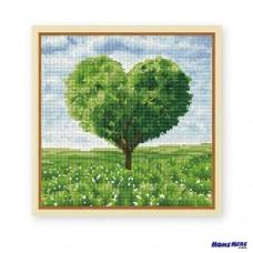 鑽石畫 愛情樹 綠