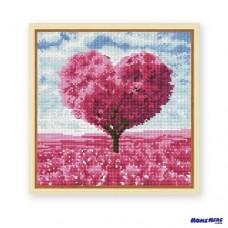 鑽石畫 愛情樹 紅