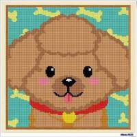 鑽石畫 貴賓狗 (含內外框/環保包裝)