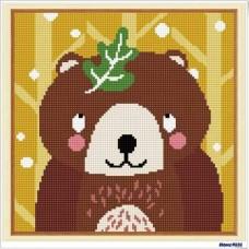 鑽石畫 棕熊