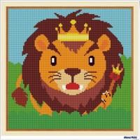 鑽石畫 獅子