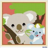 鑽石畫 無尾熊 (含內外框/環保包裝)