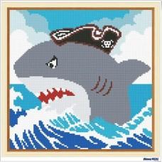 鑽石畫 鯊魚