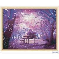 鑽石畫 夕夢紫精靈