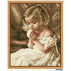 鑽石畫 虔誠的祈禱