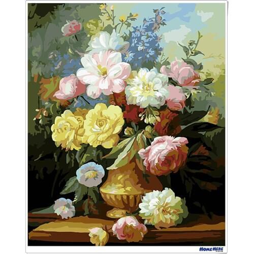 數字油畫 典雅馨香