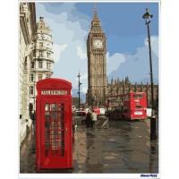 數字油畫 印象倫敦