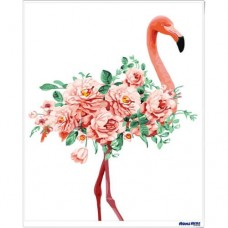 數字油畫 浪漫紅鶴