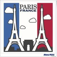 數字油畫 浪漫巴黎