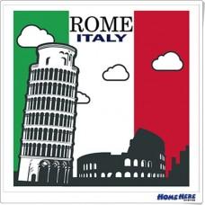 數字油畫 羅馬假期