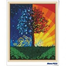 鑽石畫 世界樹